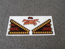 Attack From Mars Williams Pinball Apron Decal Set Gen Replacements :  Mr Pinball