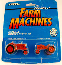 ERTL -Replica Farm Machines -Deutz Allis-Historical Tractor Set-en boîte n°1218