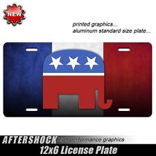 Republican license plate tea party Romney Ryan political
