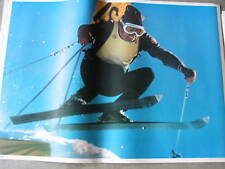 Rare 1973 Killy Downhill Skier Poster