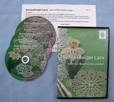 Schneeberger Lace Bobbin Lace Making Instructional Dvd Set Lia Baumeister-Jonker