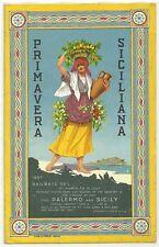 Palermo - Grand Hotel Villa Igiea - Primavera Siciliana - 1927 Edizione Inglese