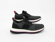 594773451503 Adidas Pure Boost Men Black Athletic Running Shoes Size 10.5M Pre Owned JJ
