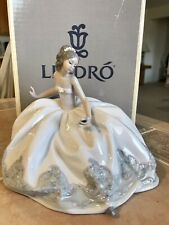 "Lladro Rare #5859 ""At The Ball� New W/ Box Exquisite Condition!"
