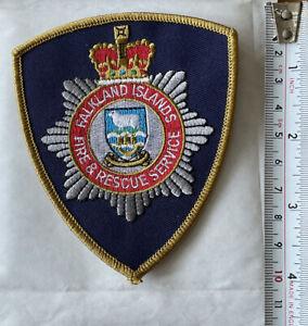 A Falkland Islands Fire & Rescue Service, Cloth  Badge