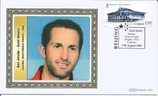 China  2008  Ben Ainslie Olympics Gold Medal  Sailing Dinghy Finn  Benham Cover