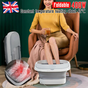 Electric Foot Spa Pedicure Vibrating Wet Warm Bath with Infrared Massage Heat