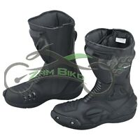 Monster Motogp motorcycle boot Motorbike leather shoes
