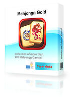 MAHJONG Gold 1000+ Card Solitaire Games Collection For Windows Software PC DVD