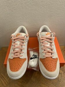 Nike Dunk Low Orange Creamsicle CL 2007 Release 318020-111 Men's Sz 10 MINT WB