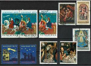 Venezuela-Weihnachsmarken