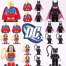20 Pcs whole sale Minifigures Dc comic Cat Wonder woman superwoman Batgirl Lego