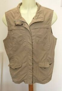 Eddie Bauer Hunting/Fishing Vest Waistcoat XL