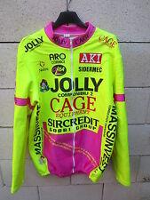 Veste cycliste JOLLY COMPONIBILI CAGE 1994 cycling jacket giacca jacke 6 XXL