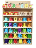 WOODEN TRAIN LETTERS PERSONALISED LUXURY NAME GIFT NEW BABY CHRISTMAS
