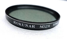 55mm ROKUNAR ND2X 2x Neutral Density Filter - NEW