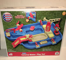American Plastic Toys Sand & Water Playset 4-Pack Red, Blue