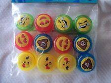 12 Emoji Yo-yo Party Favor Birthday