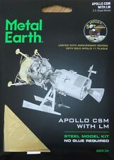 Apollo Csm with Lm Metal Earth 3D Laser Cut Metal Model Kit Mms168 Space