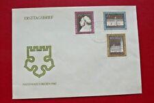 Briefmarke DDR FDC Martin Luther auf Ersttagsbrief mit Ersttagsstempel 1967,