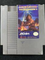 IronSword: Wizards & Warriors II (Nintendo Entertainment System, 1989) Cartridge