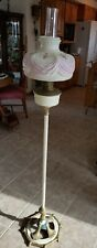 "Antique Oil  Aladdin  Floor Lamp & Shade Nice! ""FREE"" Shipping"