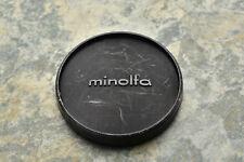Genuine Minolta 54mm Push On Front Lens Cap for 52mm Front (#2744)