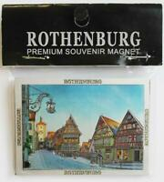 Rothenburg o.d. Tauber Premium Souvenir Magnet Germany Laser Optik