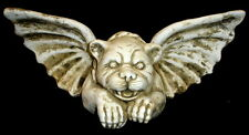 Mythical Chained Winged Gargoyle Wall Plaque Art
