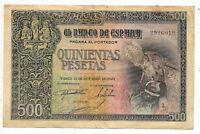 500 pesetas 21 Octubre 1940 Entierro del Conde Orgaz @@ Muy Bello @@