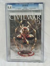 Civil War 3 CGC 9.4 Michael Turner Iron Spider Variant 1:10 Retailer Incentive
