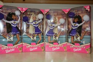 University Cheerleader Barbie East Carolina University 4 dolls
