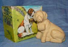 Ältere AVON Seife Hund Bernhardiner Rettungshund St.Bernard mit Karton