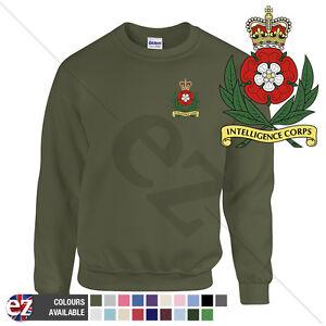 Intelligence Corps - Sweatshirt Jumper + Personalisation