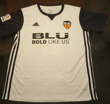 2016/17 Valencia White Jersey #2 Joao Cancelo Medium Adidas Soccer Football.