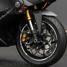 Adesivi cerchi ruote Yamaha TMAX 500 530 560 strisce profili bordi cerchioni r.6