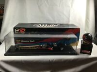 Larry Dixon Miller 1/24 NHRA  Top Fuel Dragster and Matching helmet  1 of 7500