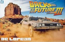 AOSHIMA 1/24 DELOREAN BACK TO THE FUTURE PART III (PLASTIC KIT)
