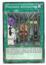 Mistaken Accusation MP16-EN222 Common Yu-Gi-Oh Card 1st Edition English Mint New