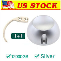 [US in STOCK]Magnetic 12000GS Golf EAS Security Tag Tools with Hook Key, Silver