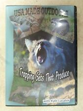 "DVD - Lasater - ""Trapping Sets That Produce""  Traps Trapping  Bobcat Raccoon Fox"