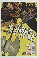 Doctor Strange #1 2015 Jason Aaron Chris Bachalo Kevin Nowlan Marvel u