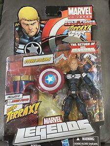 Marvel Legends CAPTAIN AMERICA - STEVE ROGERS TERRAX BAF Series- BRAND NEW!