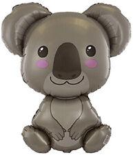 Koala Shape Foil Balloon HUGE 70CM Australia Animal 1st Birthday Baby Shower
