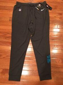 Men's Carolina Panthers Nike Charcoal Touch Fleece Performance Pants Large NWT