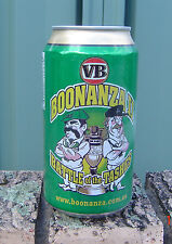 VB 2007 Cricket Boonanza 11 Battle of The Tashes Great  Empty Bottom Opened Can