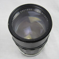 Camera Lens SOLIGOR TELE-AUTO 135mm F2.8 Lens for Nikon from JAPAN Vintage