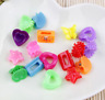 20PCS Mini Claw Hair Clips Hairpins Clamps Flower Butterfly Shell Heart