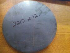 12mm Round Disc Circle Mild Steel Sheet Plate 220x12