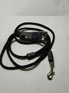 Rogz 1.8m Long Rope Dog Lead Black in 6mm